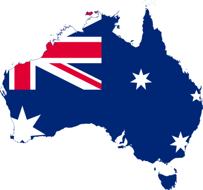 Australia Flag Transparent Background
