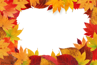 Frame Png Autumn Leaves Table Images