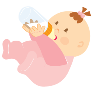 Baby Girl Drinking images Png PNG Images