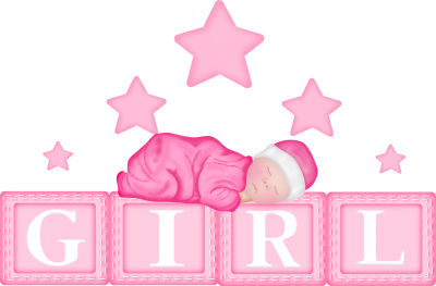 Baby Girl Star Clipart Png