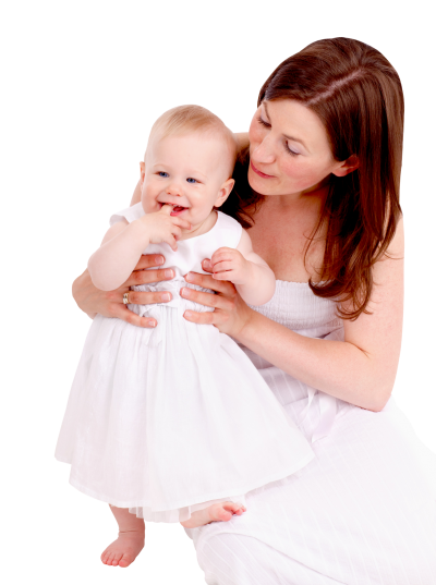 Mom With Baby Png Image PNG Images