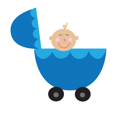 The Stroller Baby Png Clipart