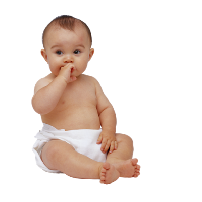 Thinking Baby Png PNG Images