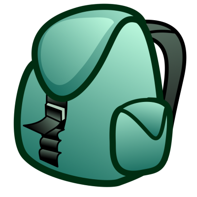 Backpack Clipart PNG File PNG Images
