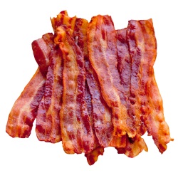 Bacon Cut Out Png PNG Images
