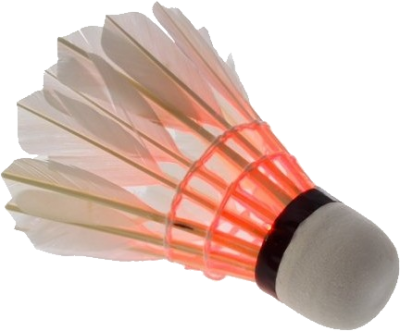 Free Download Red And White Shuttlecock Png PNG Images