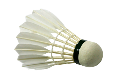 Badminton White Shuttlecock Cutout Image PNG Images