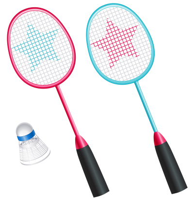 Ball Badminton, Tennis, Play Stick Star PNG PNG Images
