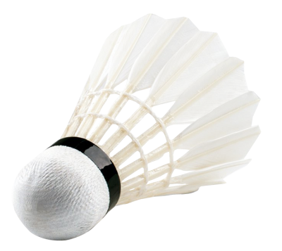 White Badminton Shuttlecock Clipart Png PNG Images