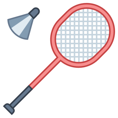 Badminton Icon Clipart PNG Images