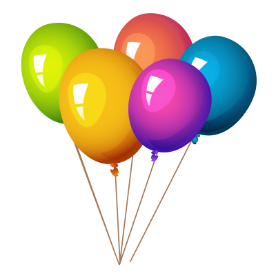 Colorful Balloon Clipart Drawing, Colors, Flying PNG Images