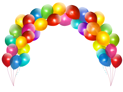 Balloons Frame HD PNG PNG Images