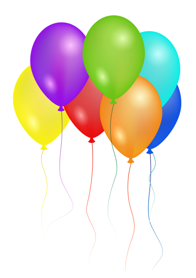 Colorful Balloons Free Transparent Png