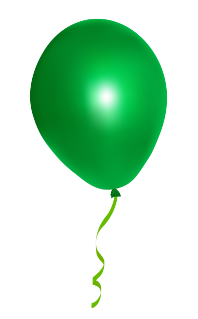 Green Balloon Cut Out Png PNG Images