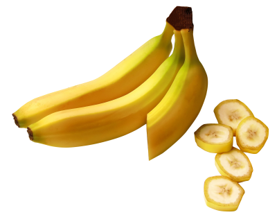 Bananas, Slices, Food Png PNG Images