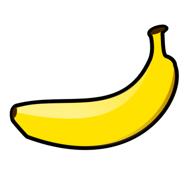 Banana Cut Out PNG Images