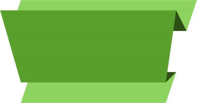 Green Banner image PNG Images