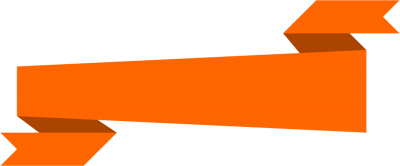 Orange Banner Png PNG Images