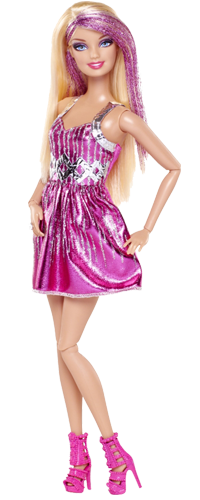 Barbie Doll Transparent Pic PNG Images