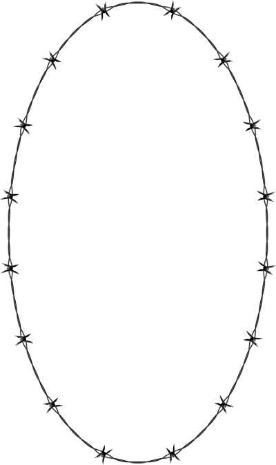 Round Barbwire Png PNG Images