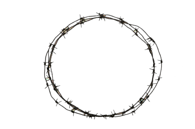 Round Barbwire Png Transparent Images