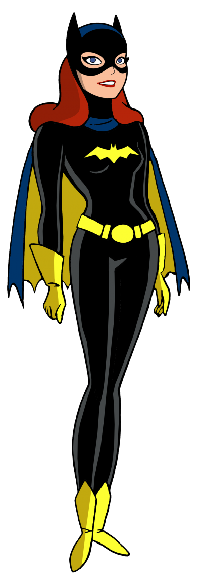 Batgirl Transparent Background
