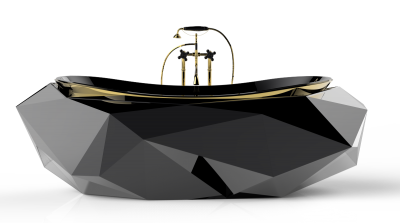 Black Bathtubs For Modern Bathroom Ideas With Standing Pictures PNG Images