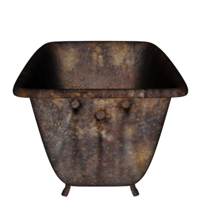 Old Bathtub Png