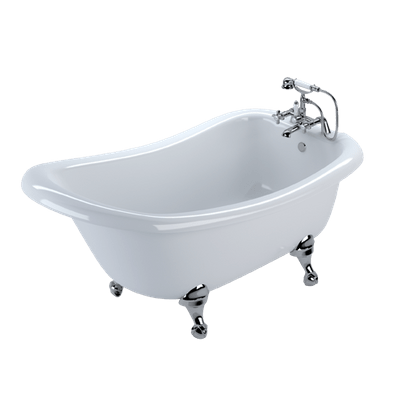 Ornate Standing Bath Transparent Png PNG Images