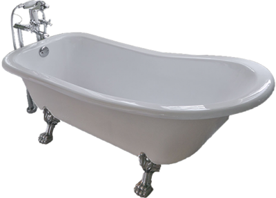 White Gold Bathtub Images PNG Images