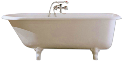 White Gold Bathtub Png PNG Images