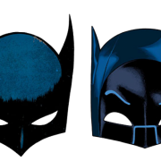 Bat, Batman, Face, Half, Mask, Skin, Woman Png Transparent Images