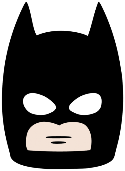 Men Batman Mask Clipart Pic