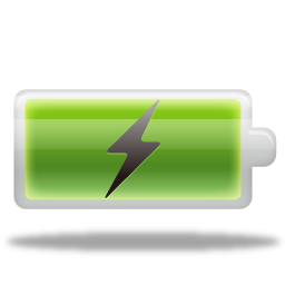 Picture Battery Charging Transparent