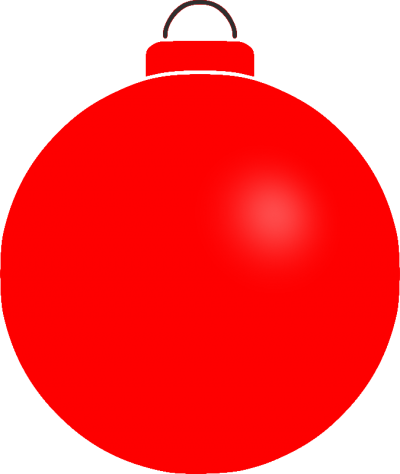 Transparent Baubles Background