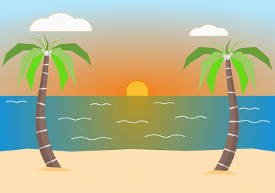 Beach Cut Out Png PNG Images