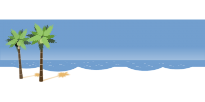 Beach Vector PNG Images