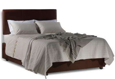 Luxury Leather Storage Bed Transparent Png PNG Images