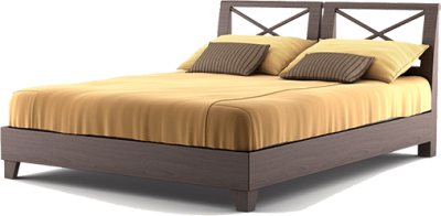 Modern View Bed Png Clipart PNG Images