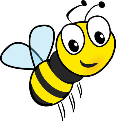 Cute Cartoon Honey Bee Transparent Hd Clipart PNG Images