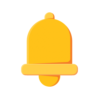 Bell Icon Clipart HD PNG Images