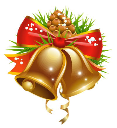 Bell Christmas Cut Out PNG Images