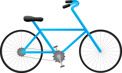 Bicycle Vector PNG Images