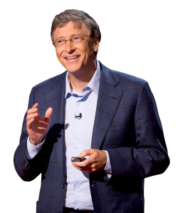 Transparent Bill Gates Clipart PNG Images