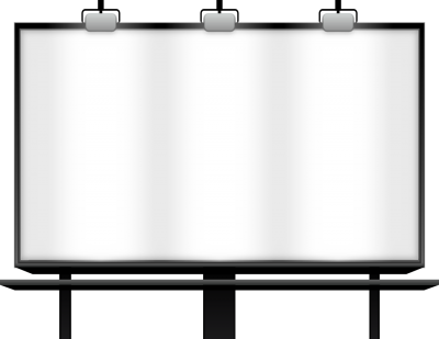 Billboard Transparent Background