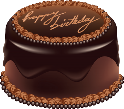 Chocolate, Birthday Cake Png PNG Images