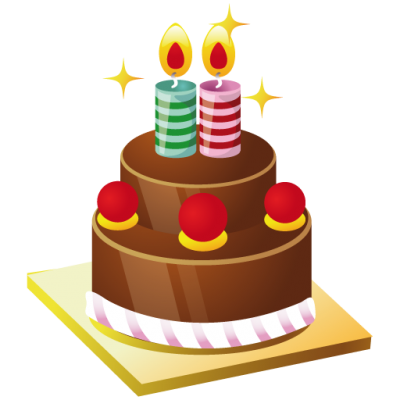 Christmas, Birthday, Cake, Candle, Sour Cherry, Icons Png