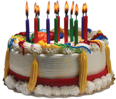 Cream Sour Birthday Cake Png