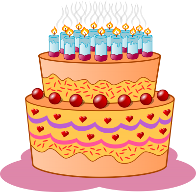 Sour Cherry, Birthdaycake, Cake, Candles, Birthday Cake Images