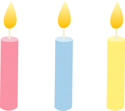 Birthday Candles Free PNG PNG Images